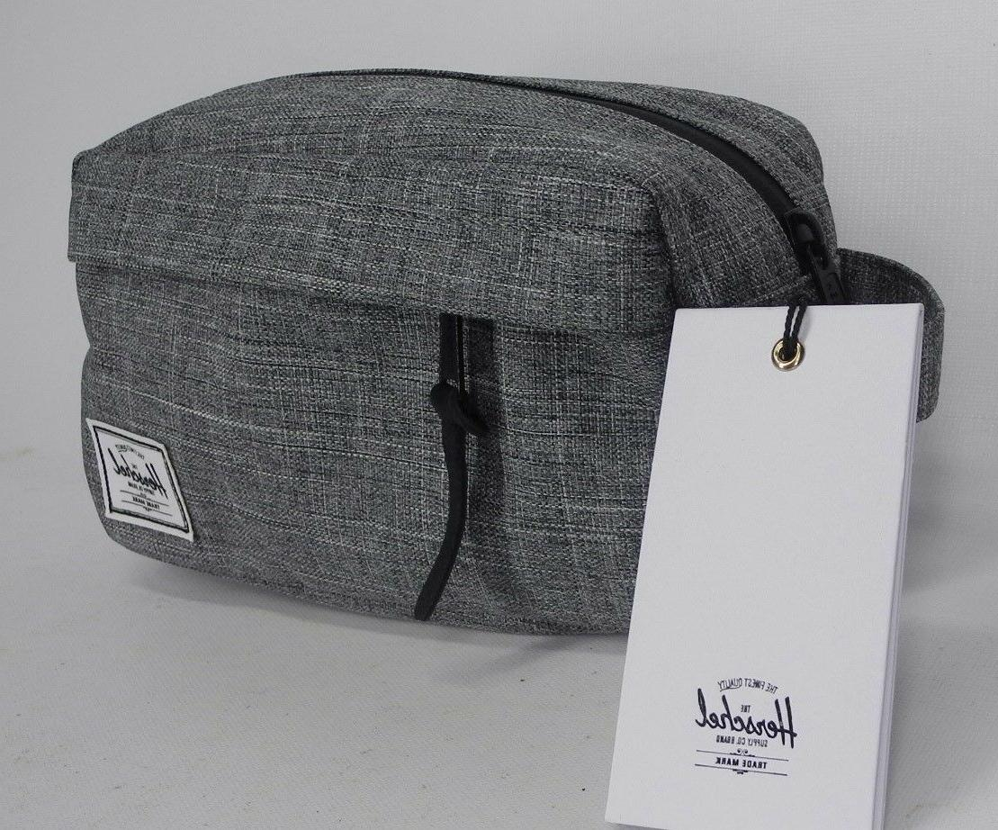 NEW HERSCHEL SUPPLY CO Chapter Carry On Travel Kit Bag Raven