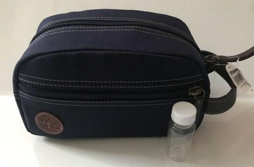 nwt men s navy canvas travel kit