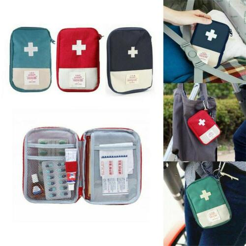 OUTDOOR FIRST AID KIT BAG MEDICAL TRAVEL HOME WORKPLACE