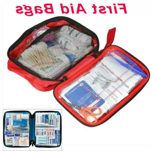 OUTDOOR FIRST AID BAG MEDICAL EMERGENCY TRAVEL HOME CAR WORKPLACE