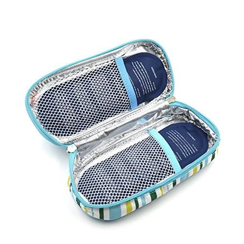 goldwheat Portable Travel Cooler Pack + 2 Pack