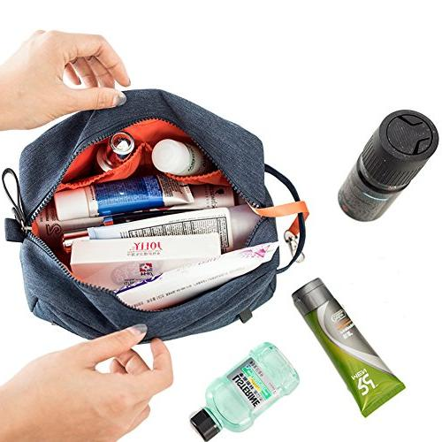 iSuperb Portable Waterproof Travel Organizer Bag Men Shaving kit bag with Key Vacation Travel