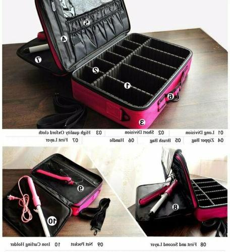 Professional Cosmetic Handle Organizer Travel