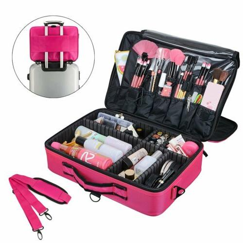 Professional Cosmetic Case Storage Organizer