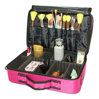 Professional Makeup Case Storage Handle Travel Kit
