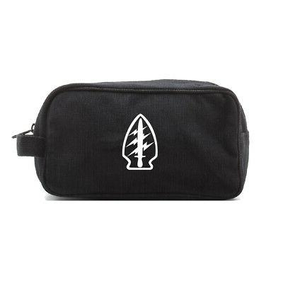 security officer canvas shower dopp kit travel