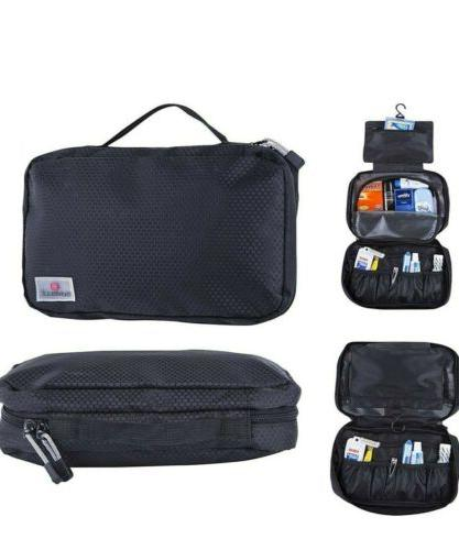 suvelle hanging toiletry travel kit organizer cosmetic