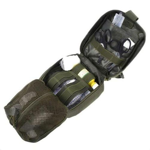 Tactical Emergency Aid Kit Survival Medical Case