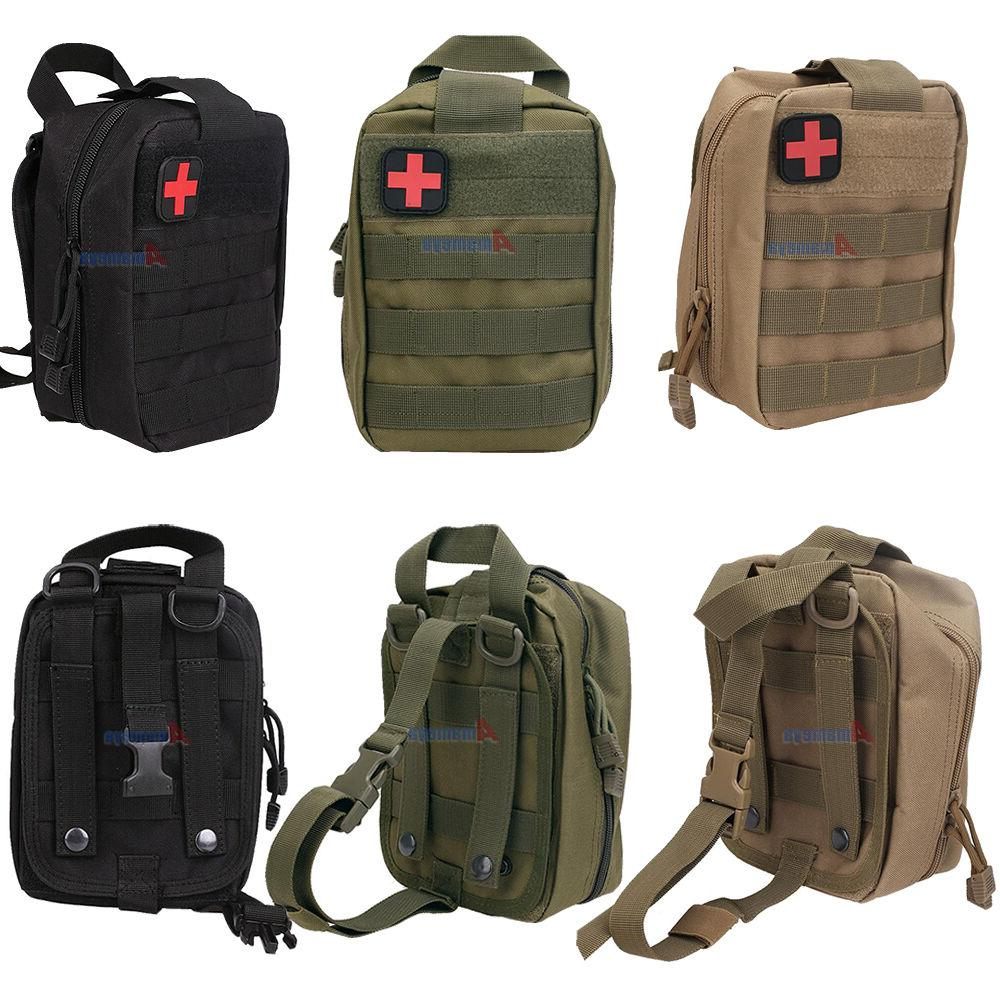 Tactical MOLLE First Aid Bag EMT Medical Pouch Outdoor Trave