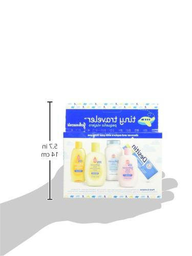 Johnson's Baby Bath And Baby Care Travel