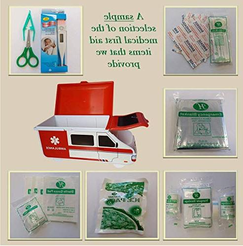 Toddler Kit - Baby Health Care American Box Compact Friendly, Perfect for Home, Caravan,