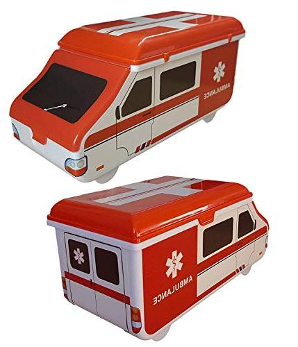 Toddler First Kit - Baby & Health American Ambulance Box Compact Perfect for Caravan,