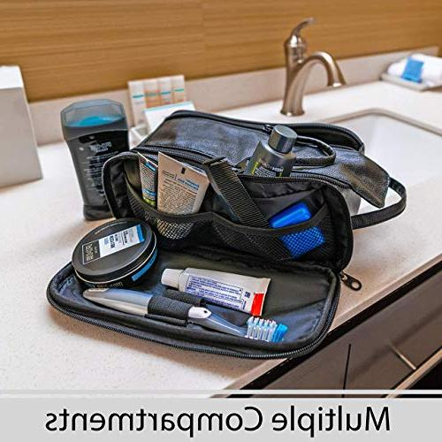 Toiletry Bag for Men or - Kit Cruelty Free Toiletries PU Leather