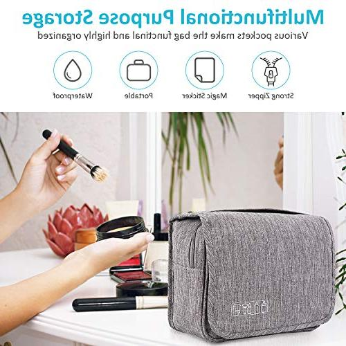 3ba920ffff9e EcoLifeDay Toiletry Bag, Handing Toiletry Bag for Travel,