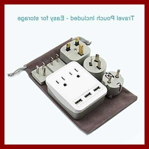 W/Triple Ports + Outlets Includes Plugs Fo