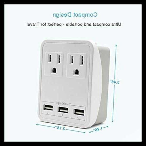 travel adapter charger kit w triple 2