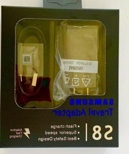 travel adapter fast charger type c cable