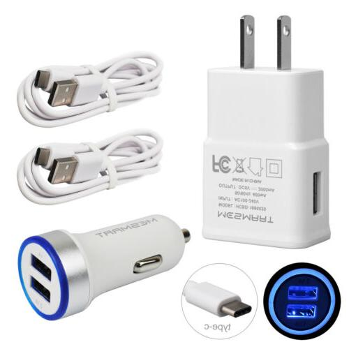 Travel Car Charger USB C Cable Charging Kit Google Pixel