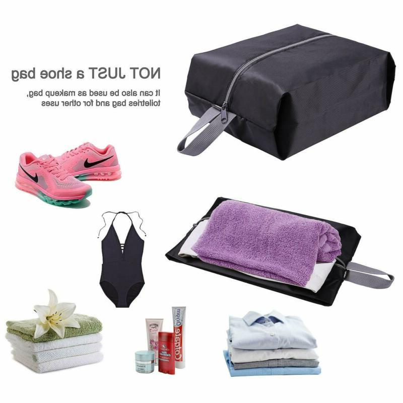 Travel Shoe Bags Set of Waterproof with Zipper &