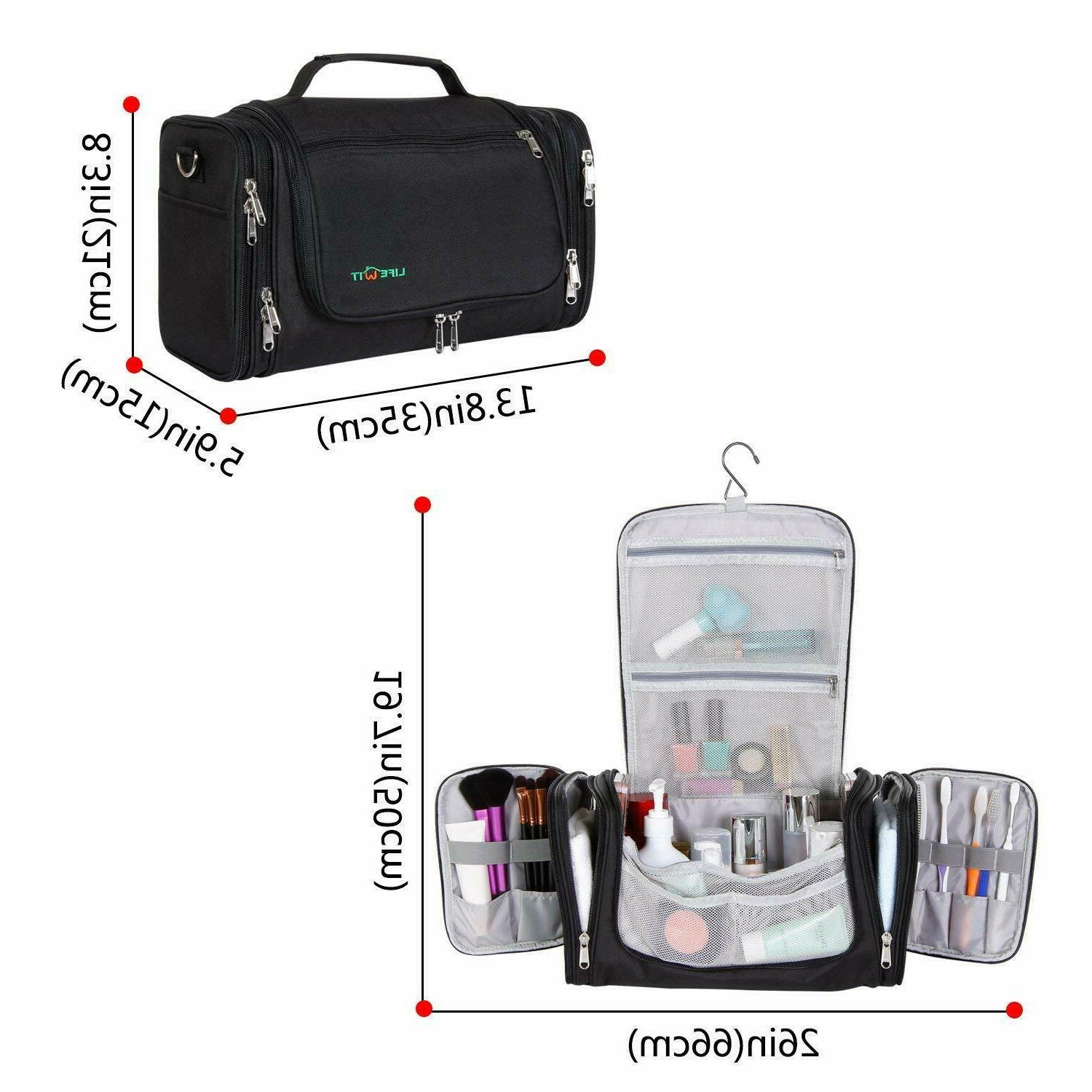 Travel Toiletry Bag Hanging Pack Kit Extra Large