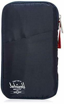 travel wallet one size navy red