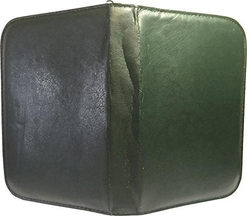 Traveling 15 Green Zippered Case