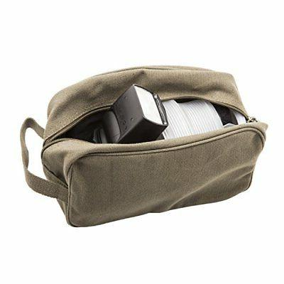 U.S. Star Canvas Kit Travel Toiletry Case in