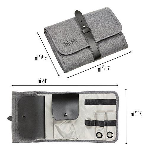 Universal Organizer Bag, Kit, Pouch and Roll-Up Case, Size and your Travel Accessories