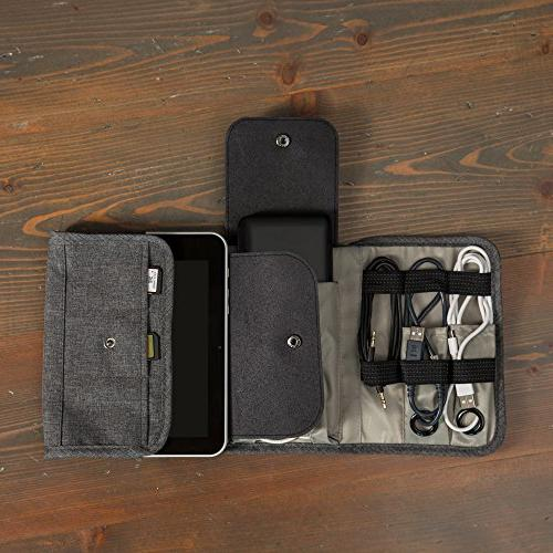 Universal Folding Bag, Kit, Gear and Roll-Up Gadgets Case, Perfect Size and Space your Accessories