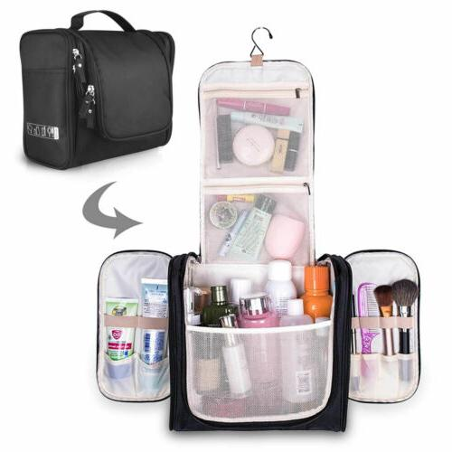 Waterproof Hanging Travel Cosmetic Kit Organizer