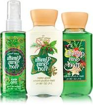 Bath & Body Works Vanilla Bean Noel Travel Size Gift Set - A