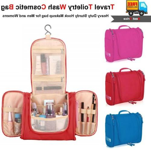 waterproof toiletry hanging bag travel cosmetic kit