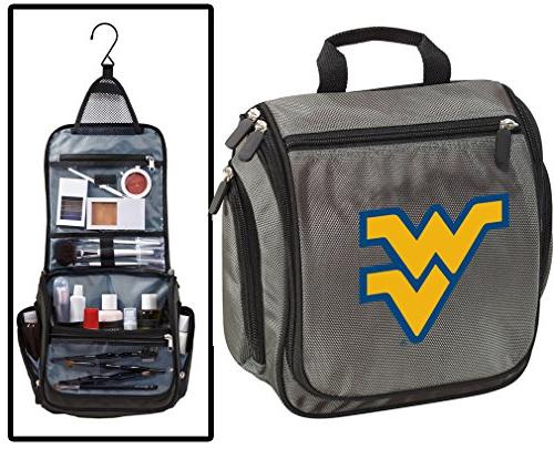 west virginia university toiletry bags