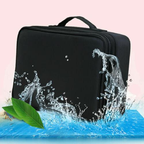 Women Large Makeup Bag Cosmetic Case Storage Handle Travel O