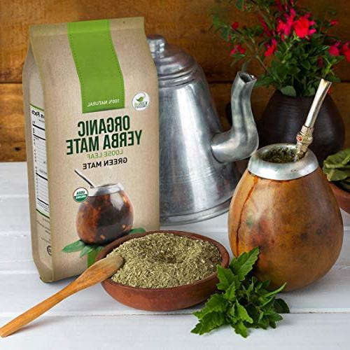 Organic Leaf - South American Boost and Aids Digestion - with Antioxidants