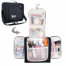 Melodysusie Large Hanging Travel Toiletry Bag Waterproof Mak