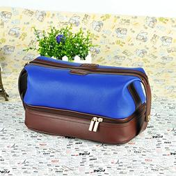 Leather Toiletry Bag Travel For Men Dopp Kit. The Ultimate G