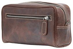 Silkroute Craft Leather Toiletry Bag For Men  featuring Trav