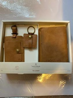 Hearth & Hand With Magnolia Leather Travel Kit Passport Lugg