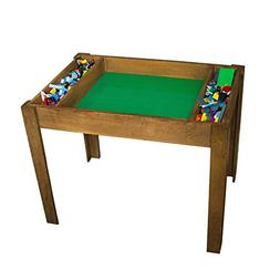 Brick Nation LEGO Compatible Table With Storage For Older Ki