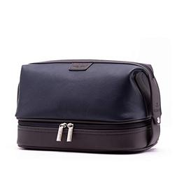leo leather toiletry bag