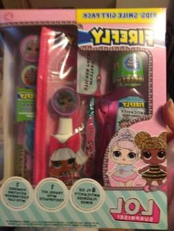 LOL SURPRISE KIDS SMILE GIFT SET, with ELECTRIC TOOTHBRUSH,