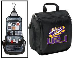 LSU Cosmetic Bag- LSU Shaving Kit -LSU Travel Bag Dopp Kit M