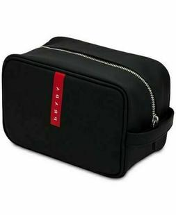 PRADA Lunablack red toiletry bag dopp kit pouch travel case