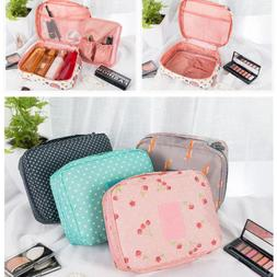 Makeup Travel Kit Cosmetic Bag Case Multifunction Pouch Toil