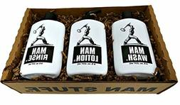 Man Stuff Gift Set - Bath and Body for Men