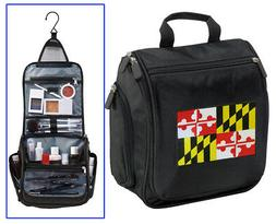 Maryland Cosmetic Bag- Shaving Kit -Travel Toiletries Dopp K