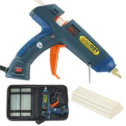 Hot Melt Glue Gun Kit 100 Watt with Carry Bag and 12 pcs Glu