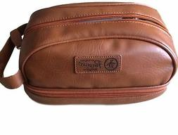 PENGUIN Men's Toiletry Travel Shave Kit Case Bag NWT $49.5