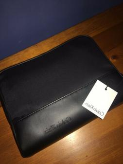Calvin Klein Men's Zip Dopp Kit Black Zip Travel Shaving Toi